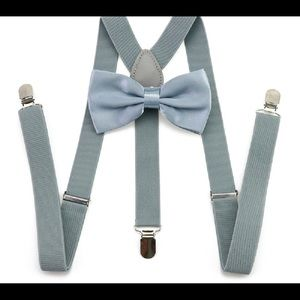 Suspenders and Bow Tie Set.